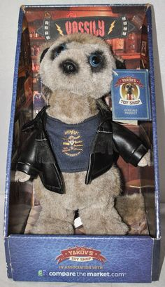 VASSILY COMPARE THE MEERKAT / MARKET TOY, IN BOX & SEALED WITH TAG