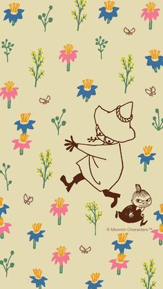 Moomin Wallpaper, Twitter Header Pictures, Moomin Valley, Tove Jansson, Iphone Background Wallpaper, Little My, Cute Art, Aesthetic Wallpapers, Illustration