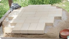 Lehmofen Backfläche Stepping Stones, Patio, Outdoor Decor, Home Decor, Pizza Bake, Oven, Do It Yourself, Stair Risers, Terrace
