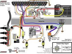 basic ford hot rod wiring diagram | hot rod tech | pinterest cheap hot rod wiring harness hot rod wiring panels #14