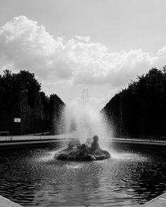 Black water #versailles #fountain #garden #jardin #chateaudeversailles #yvelines #louisxiv #art #architecture #patrimoine #leicaq #nature #leica #blackandwhite #lightroom