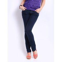 Lee Dark Blue Roxy Mid Skinny Jeans
