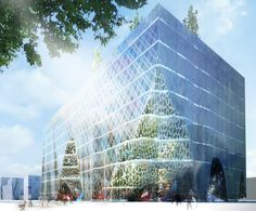 BENETTON GROUP HQ in TEHERAN by OXO Architects