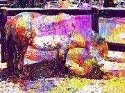 "New artwork for sale! - "" Shetland Pony Horse Pony Animal  by PixBreak Art "" - http://ift.tt/2w4iOTf"
