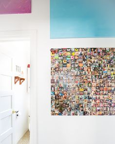 Picture wall.  Love the idea #stylecure