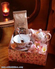 Tea:  #Tea-time care package...
