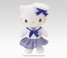 Hello Kitty sailor plush @ Sanrio