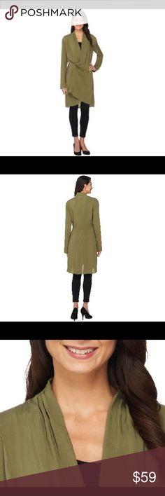 a107ee29e2 💞Nwots Lisa Rinna Longsleeve wrap front tunics 💞Nwots from Lisa Rinna