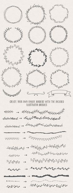 The Handsketched Designers Kit by Nicky Laatz on @Creative Market
