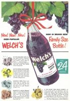 The Best Resource on the Net of Vintage Ads! Browse our Advertisement Gallery featuring: Albaugh-Dover Grocery Bar,… Welch Juice, Welch Grape Juice, Juice Company, Non Alcoholic Drinks, Beverages, Fruit Juice, Family Love, Coconut Water, Vintage Ads
