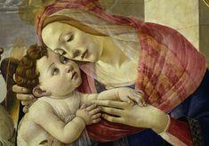 Bild: Sandro Botticelli - Botticelli Workshop / Madonna w.Angels
