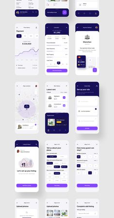 Propoto UI Kit Premium Real Estate UI Kit focused on luxury & elegant product Ui Design Mobile, App Ui Design, User Interface Design, Flat Design, Design Design, App Design Inspiration, Ui Kit, Design Thinking, Application Ui Design