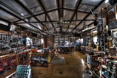 Wood Shop view
