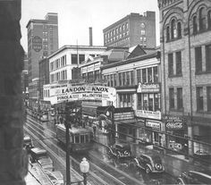 Vintage Johnstown: Rainy Day in Town Old Pictures, Old Photos, Vintage Photos, Johnstown Pennsylvania, Johnstown Flood, Main Street, Street View, Pennsylvania History, Conquistador