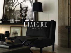 CONCEPT | ARMLESS LOUNGE CHAIR; Christian Liaigre