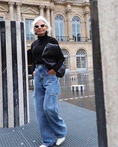 Looks Street Style, Looks Style, Looks Cool, Look Fashion, Winter Fashion, Fashion Outfits, Womens Fashion, Fashion Beauty, Pinterest Mode