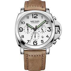 Mens Luxury Quartz Watch