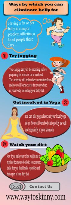 Ways by which you can eliminate belly fat