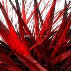 RED FOREST Forest Floor, Floor Pillows, Neon Signs, Flooring, Water, Red, Painting, Gripe Water, Painting Art