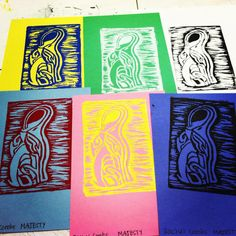 Print making.
