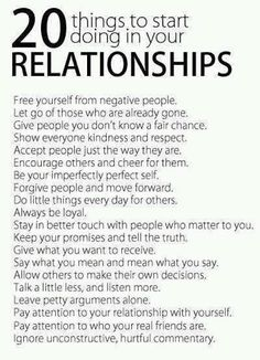 Love. Relationships.