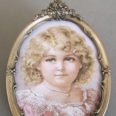 Antique Silver Plated Frame BOW & ROSES Crown Wire Easel Back Miniature Portrait