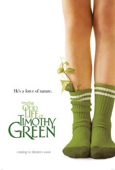 """A childless couple bury a box in their backyard, containing all of their wishes for an infant. Soon, a child is born, though Timothy Green is not all that he appears."" Opens 28 September 2012 in Sweden."