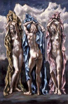 Rosamaria G Frangini | Art PaintingWomen | 'Mythologie', Serge Petrovitch Ivanoff, Russian artist, 1893-1983