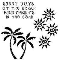 . Painted Curtains, Footprint, Sunny Days, Stencils, Decor, Decoration, Templates, Decorating, Stenciling