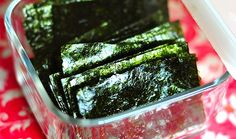 Skip the kale chips and try these baked seaweed chips. They're packed with flavor and essential nutrients.