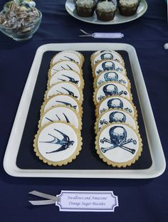 Orange Sugar Biscuits - Swallows and Amazons style!