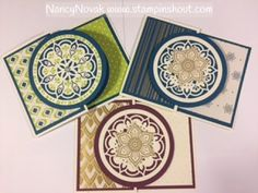 Eastern Palace Fancy Fold Card using Stampin Up Stamps & Accessories