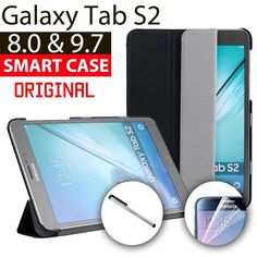 Smart Lightweight Stand Case Cover for Samsung Galaxy Tab S2 8.0 9.7 Tablet