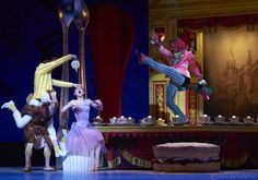 Royal Ballet - Sarah Lamb as Alice, Alexander Campbell as the Mad Hatter and Liam Scarlett as the March Hare
