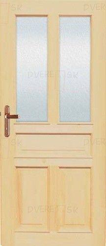 Vchodové dvere Tredo RADKA sklo kazetové | Dvere.sk
