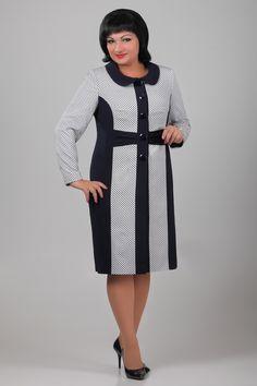 ЭЛЬЗА 1048 Платье-двойка - купить недорого с доставкой High Neck Dress, Dresses For Work, Fashion, Turtleneck Dress, Moda, Fashion Styles, Fasion, High Neckline Dress