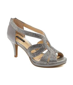 Ceylon:Alex Marie Dayten Beaded Dress Sandals (tried on but heel is loose because of the zipper -- doesn't stay on when walking)