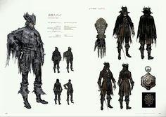Image result for bloodborne set cavaleiro