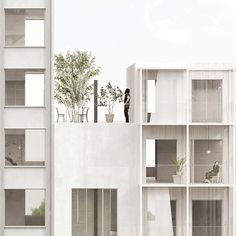 Mixed Use Housing, Stockholm #architectural #render