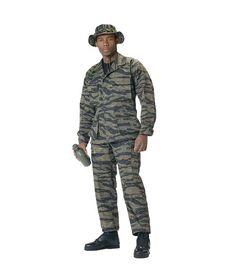 ULTRA FORCE TIGER STRIPE POLY/COTTON TWILL B.D.U.'S