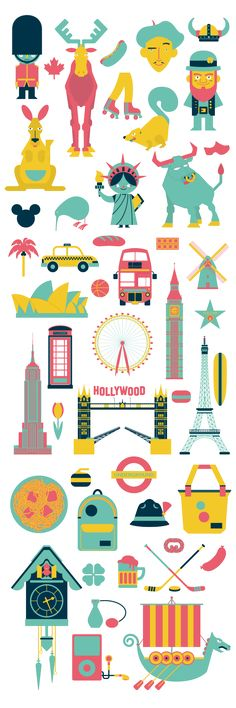 Illustrations from around the world