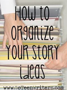 Go Teen Writers: How do you organize your story ideas? Go Teen Writers: How do you organize your story ideas? Creative Writing Tips, Book Writing Tips, Writing Words, Fiction Writing, Writing Process, Writing Quotes, Writing Resources, Writing Help, Writing Skills
