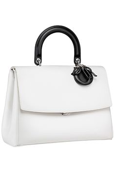 Be Dior Flap Bag with Top Handle Reference Guide | Spotted Fashion