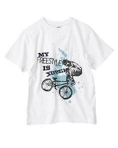 freestyle bike tee