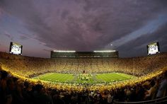 University of Michigan football stadium