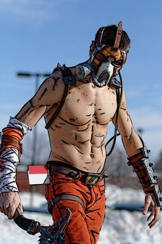 Character: Krieg the Psycho / From: 2K Games & Gearbox Software's 'Borderlands' Video Game Series / Cosplayer: Jordan Duncan (aka Henchmen Props Cosplay) / Photo: Something Something Photography / Event: Con-G (2014)