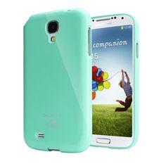 Mercury/Goospery Jelly Case [Miętowy], Pokrowiec dla Samsung Galaxy S4