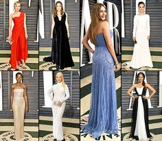 No argument here: The Academy Awards dresses are stunning. But when the stars step out to the annual post-Oscars bashes, they often slip into their second -- much sexier -- looks of the night. See Lupita Nyong'o, Zoe Saldana, Emma Stone, and more of the ladies who stunned Us Weekly at the Vanity Fair Oscar Party 2015 on Feb. 22, in Beverly Hills!