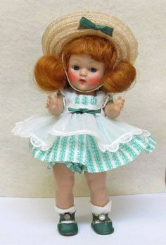 ~~~LIVELY LITTLE LUCY 1953  STRUNG VOGUE GINNY DOLL- LOVELY !!~~~~
