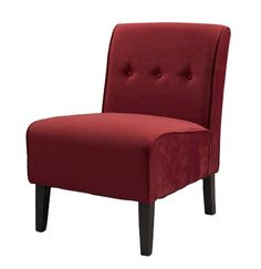 Classic design meets modern appeal in this superbly comfortable upholstered chair. Substantial, durable padding and a sturdy hardwood frame makes for #long lasti...